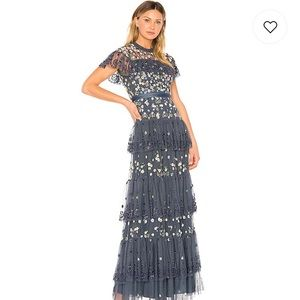 Needle & Thread Tiered Anglais Gown